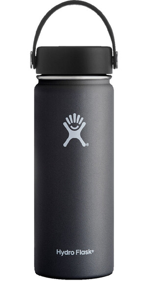Hydro Flask Wide Mouth Flex Bottle 18oz (532ml) Black